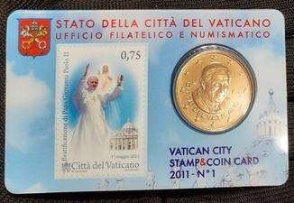 50 центов 2011 Ватикан