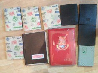 Большая коллекция марок 10 альбомов, более 2000 шт + блоки