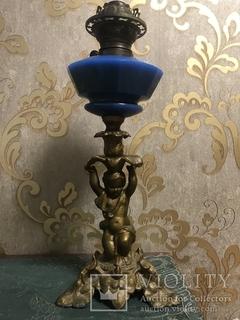 Керосиновая лампа. Старая Германия. Клеймо