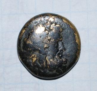 Монета Древней Греции 7. Вес: 7,64 г.