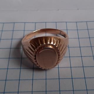 Женский золотой перстень,583-я проба,звезда