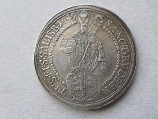 Талер Зальцбург 1649 г.