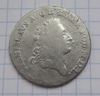 8 грошей 1782 года Станислав Август Понятовский