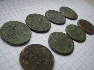Деньга 1735, 1738, 1734, 1739, 1731, 174?