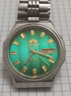 Часы  Orient автоподзавод родной брослет