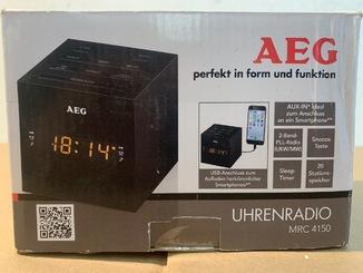 Удобные радиочасы AEG MRC 4150