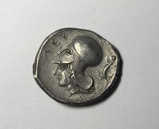 Статер Левкаса 450-380 г до н. э