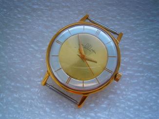 Часы Луч 23 камня в позолоте.