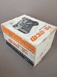 Фотоаппарат фед-5 с паспортом и в родной коробке.