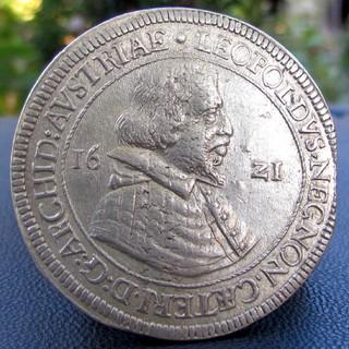 Талер 1621 р. Леопольд