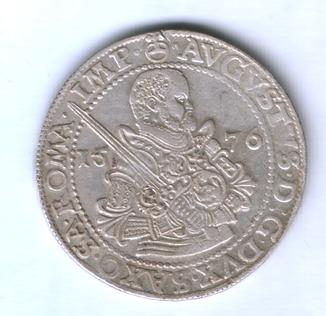 Саксония талер 1576г.