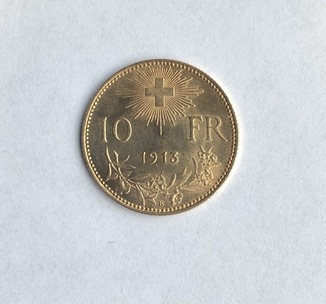 10 франков 1913г