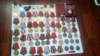 Медали знаки разние