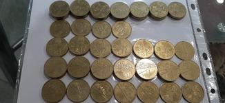 Юбилейные монеты 2004, 2005, 2010, 2012, 2015г. 73 штуки