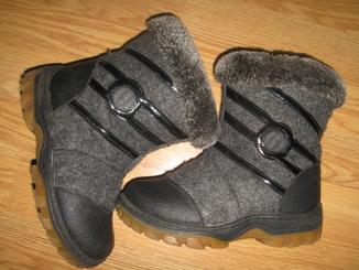 Зимові чобітки ботинки валянки shoes dfy встілка 19.5см