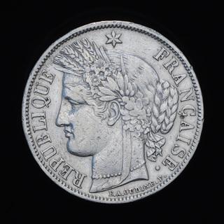 5 Франков 1851 А Церера, Франция