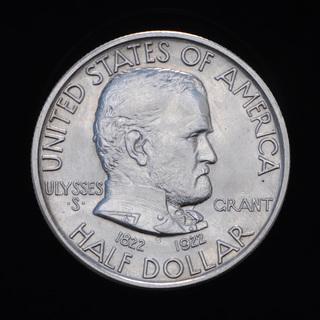 50 Центов 1922 100 лет со дня рождения Улисса Гранта, США