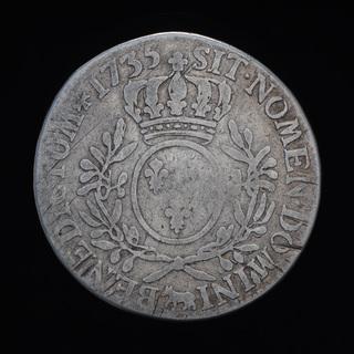 1 Экю 1735 Луи XV, Франция