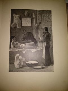 1908 Эротика офорты обнаженное женское тело
