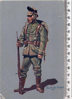 Первая мировая. Агитационная открытка. 1915 год.