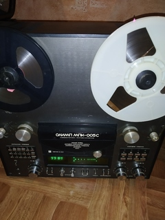 Катушечный магнитофон 005 с + колонка с 70
