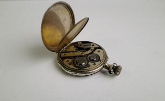 Карманные серебряные часы (0.800 пробы) под восстановление