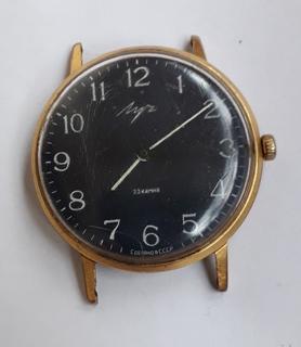 """Часы """"Луч"""" (23 камня.Au20+) Тонкие"""