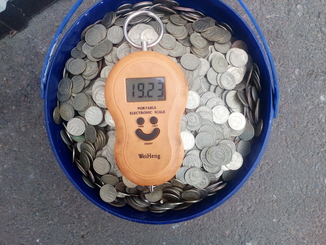 Ведро советских монет 19кг