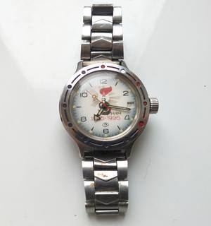 Часы Командирские Амфибия с автоподзаводом