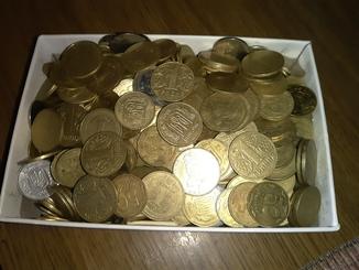 Монеты Украины копилка с 2009г.