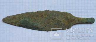 Большой бронзовый нож Катакомбной культуры