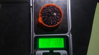 Серебряные контакты из реле СССР 27,88 грамм