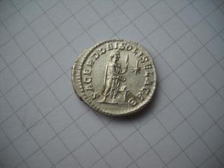 Денарий Элагабал (218-222)