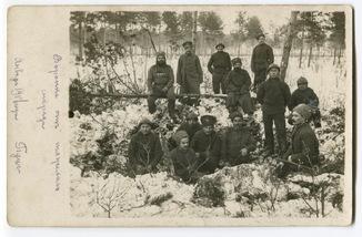 482-й пех. Жиздринский полк. Георгиевский кавалер. Янв. 1917 г.