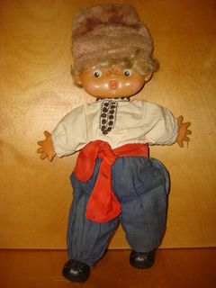 Кукла Тарасик Кругозор.Высота 40 см