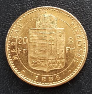 20 франків 8 форинтів 1889 року, Австро-Угорщина