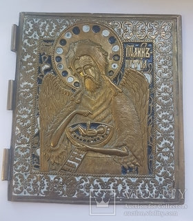 Часть большого складня - Святой Иоан Предтеча