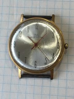 Часы Луч плоские АU-20