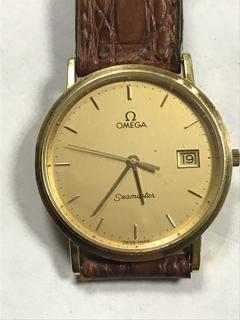 Золотые часы Omega омега
