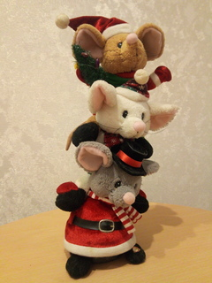 Аmwаy.Новогодние мышата(три брата акробата)