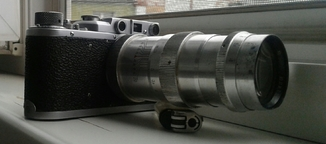 Фотоаппарат ФЕД + объектив Юпитер 11