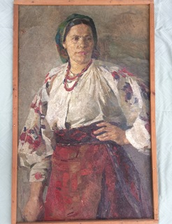 Портрет 75х55 см