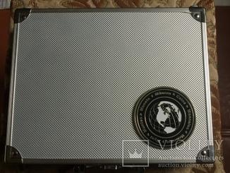 Кейс для монет SAFE из алюминия б/у. отличный