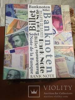 Альбом для банкнот.б/у. SAFE. 42 листа .
