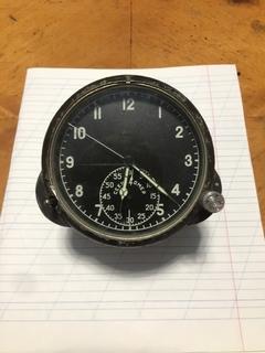 Часы авиации самолётный работают