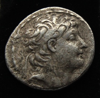 Тетрадрахма 128-123 гг до н.е. Александр II серебро 15.58 г