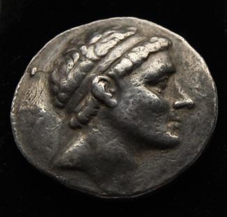 Тетрадрахма 228-187 гг до н.е. Атиохий III серебро 16.99 г