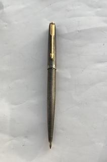Срібна ручка Рarker  925й проби в позолоті