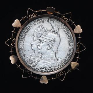 2 Марки 1901 200 Лет Династии Гогенцолернов , Пруссия
