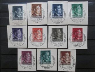 3-й Рейх, Генерал губернаторство Гитлер, спецгашение